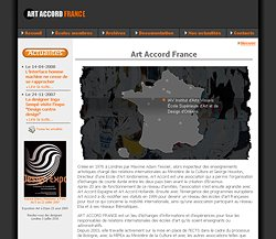 Site Internet Art Accord France