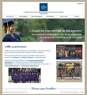 Acad�mie Internationale de Management